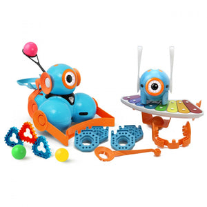WONDER WORKSHOP Dash & Dot Robot Wonder Pack (full accessories)