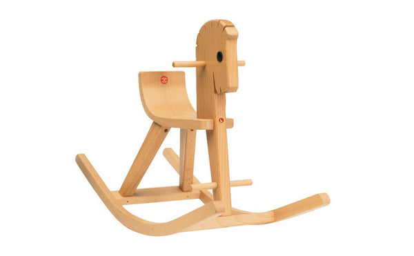 OSTHEIMER Rocking Horse Peter clear varnish