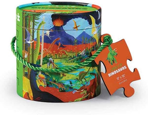 CROCODILE CREEK 24-pc Mini Canister - Land of Dinos