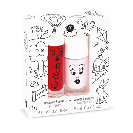NAILMATIC KIDS - Duo Set - Kids Cottage - Rollette Nail Polish