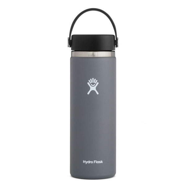 HYDRO FLASK 20 oz Wide Mouth 2.0 W/Flex Cap - Stone