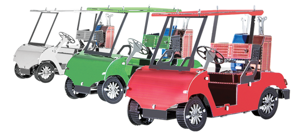 METAL EARTH Golf Cart Set