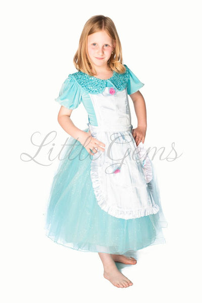 LITTLE GEMS Alice Velvet with Apron