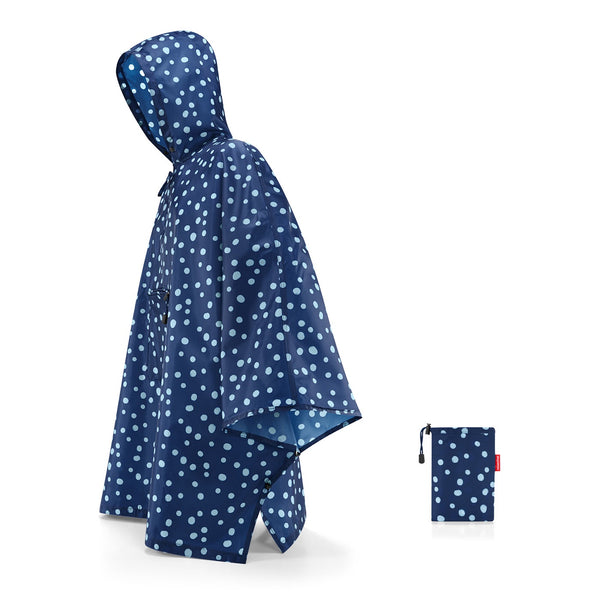 REISENTHEL Mini Maxi Poncho XL Spots Navy