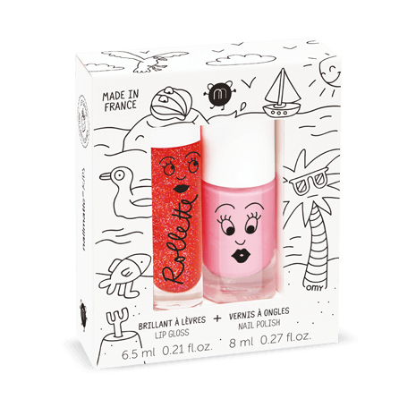 NAILMATIC KIDS - Duo Set  - Holidays - Rollette Nail Polish