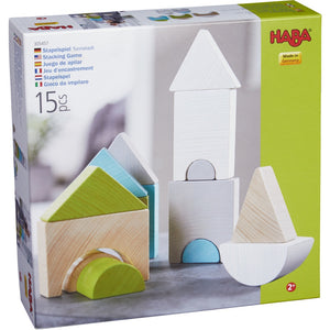 HABA Stacking Game Tower Town