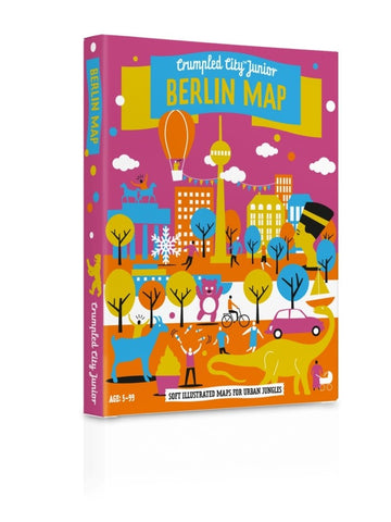 CRUMPLED CITY JUNIOR - BERLIN MAP
