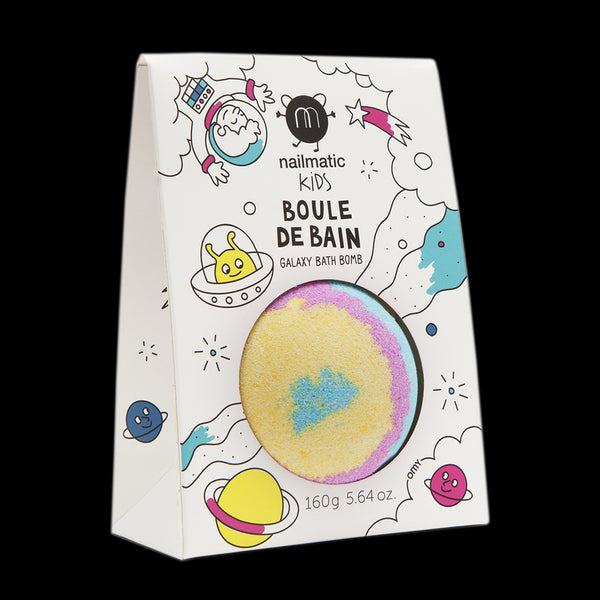 NAILMATIC KIDS - Colouring and Soothing Bath Bombs for Kids - Galaxy