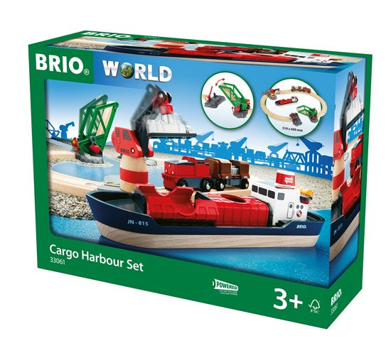 BRIO Cargo Harbour Set