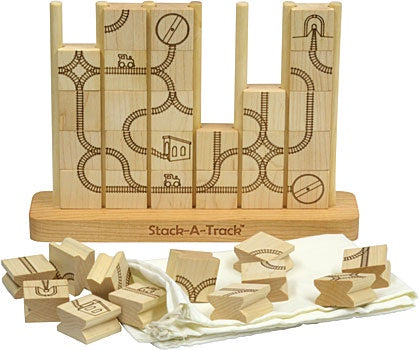 MAPLE LANDMARK Stack-A-Track