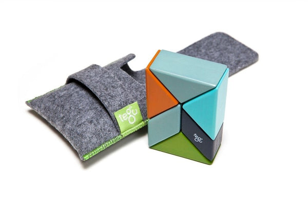 TEGU 6 piece Pocket Pouch Prism in Nelson