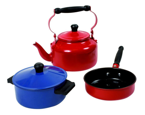 MICKI Cookwareset, 3 pcs coloured