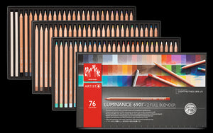 Caran d'Ache Luminance 6901 76 + 2 Full Blender (Permanent Coloured Pencil)