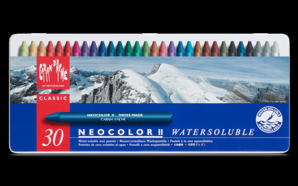Caran d'Ache Neocolor II 30 (Watercolour Wax Pastel)
