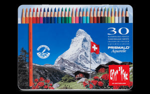 Caran d'Ache Prismalo 30 (Water-soluble colour pencil)
