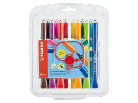 STABILO Cappi Markers set of 12