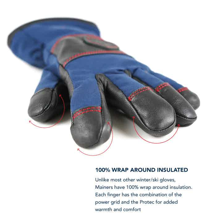 winter gloves, warm gloves, extreme cold gloves, gloves made in USA, US-made gloves