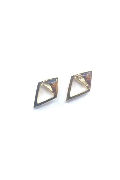 Gabriella Earrings - Punky Plated
