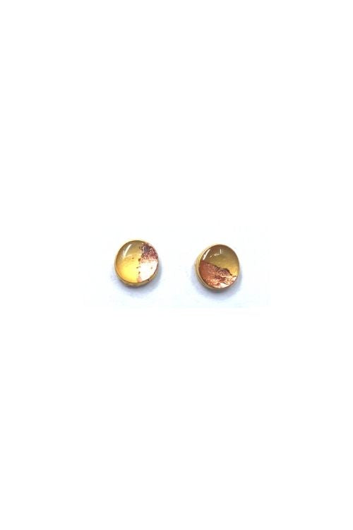Upload image to gallery, Lena Earrings - Copper Leaf Plated