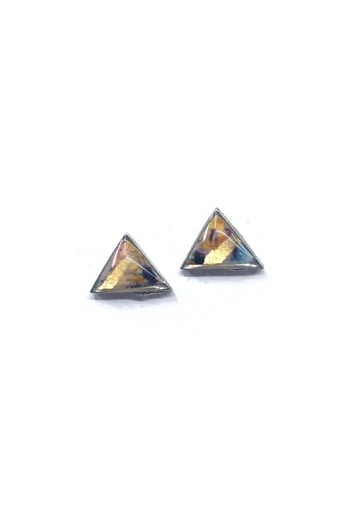 Helena Earrings - Punky Plated