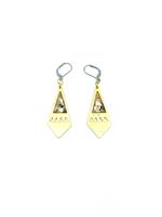 Maïka Earrings - Punky Plated