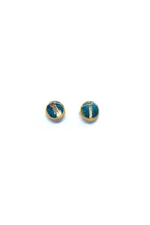 Lena Earrings - Turquoise Plated