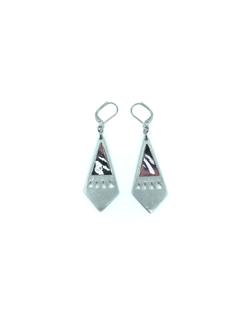Maïka Earrings - Pink Pewter
