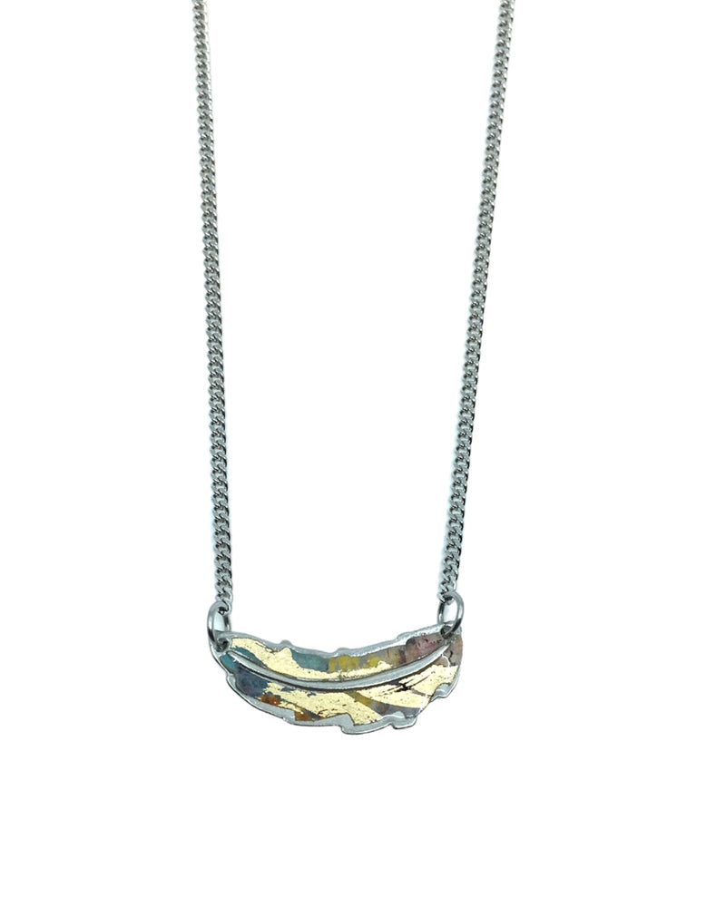 Jemma Necklace - Pewter, Punky