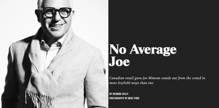 York University Magazine - No Average Joe