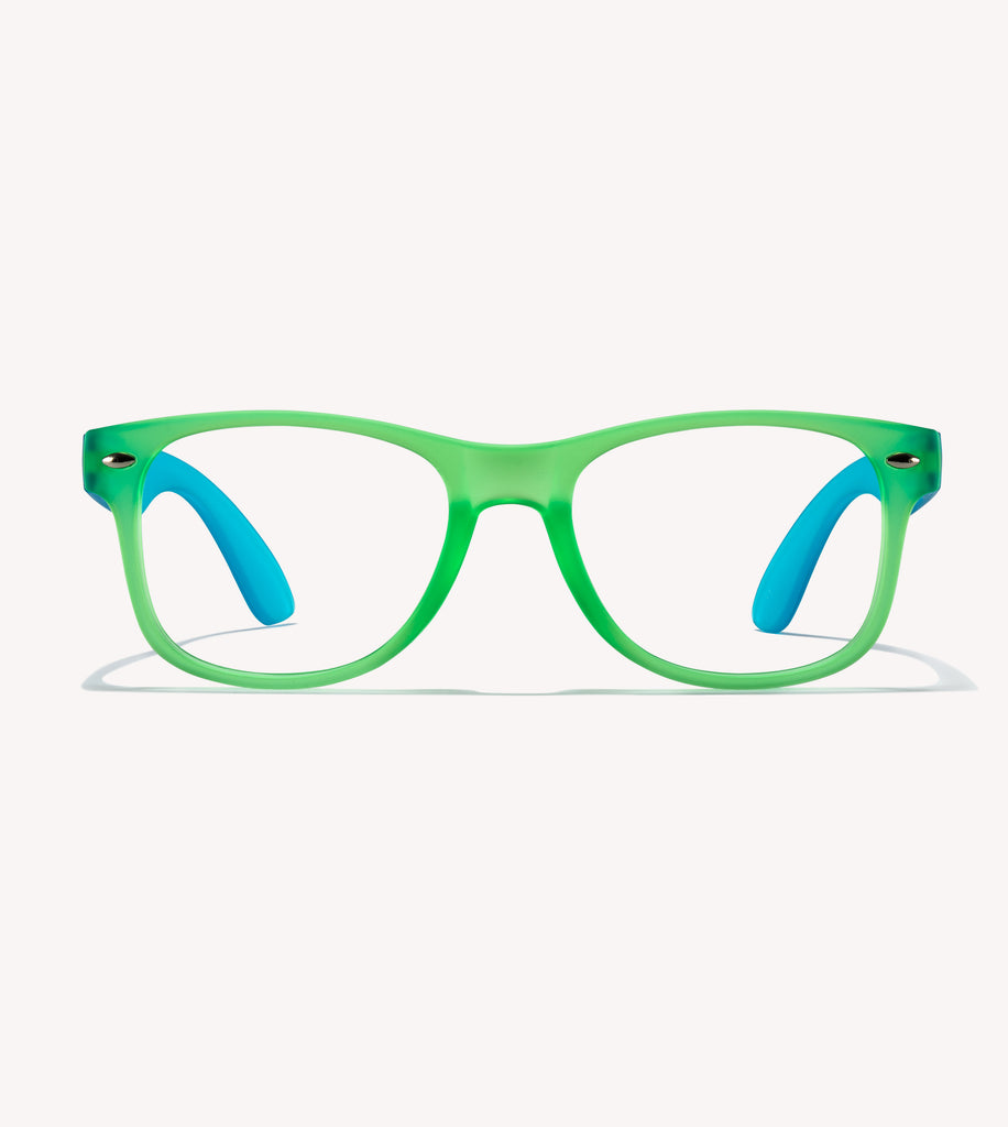 Gry Mattr Kids Blue Light Glasses - Awesome Bl - +0.00 - Green
