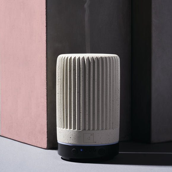 Pleated Concrete Essential Oil Diffuser