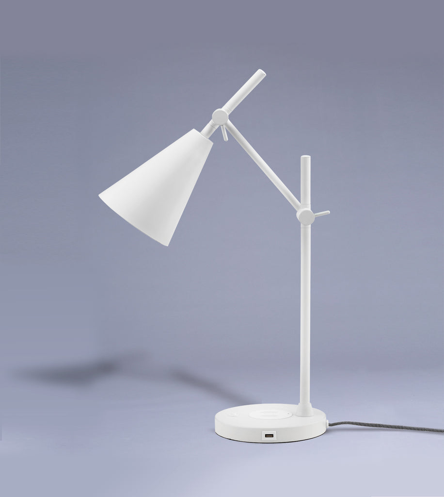 Desk Lamp, White