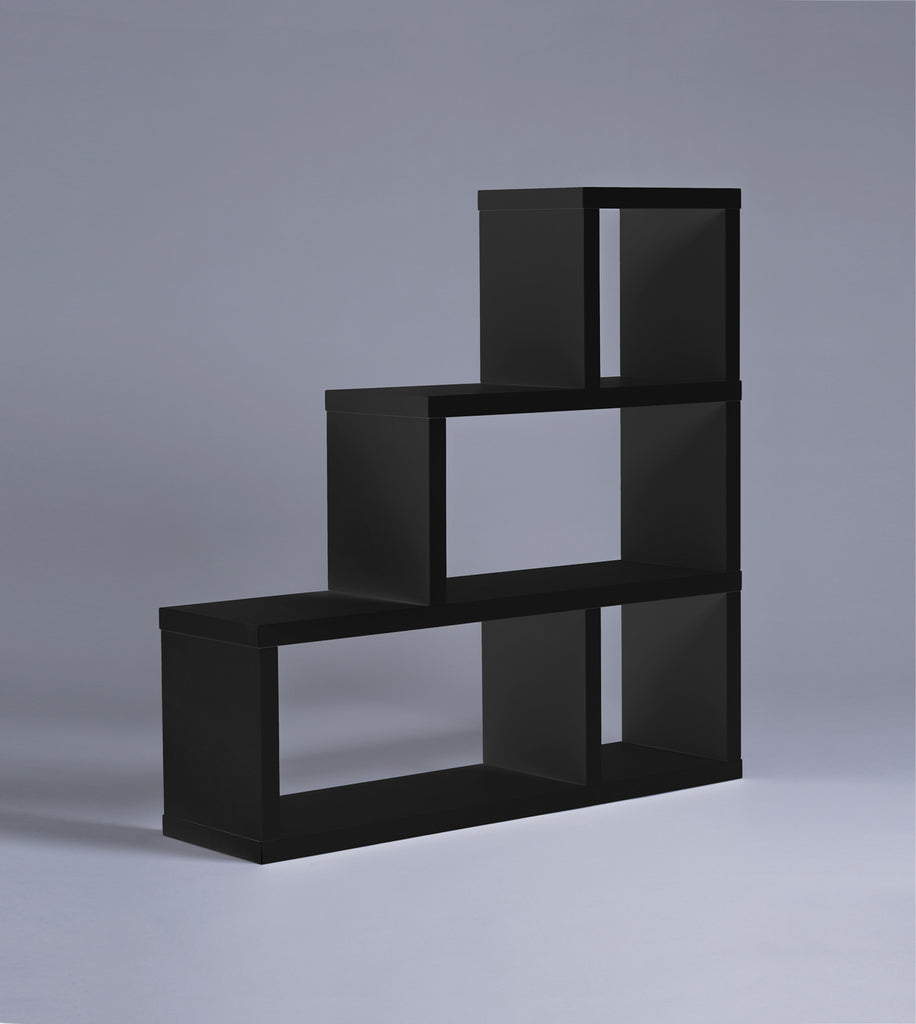 Parsons 3-Tiered Bookshelf, Black