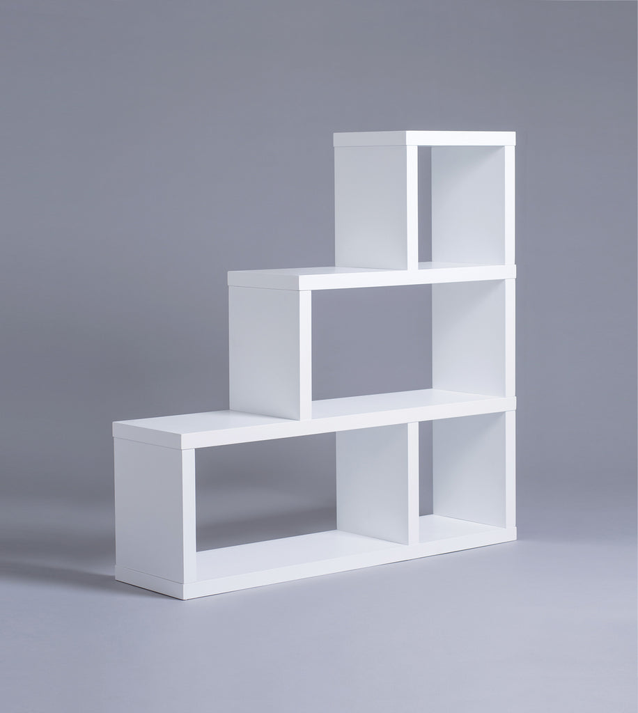 Parsons 3-Tiered Bookshelf, White