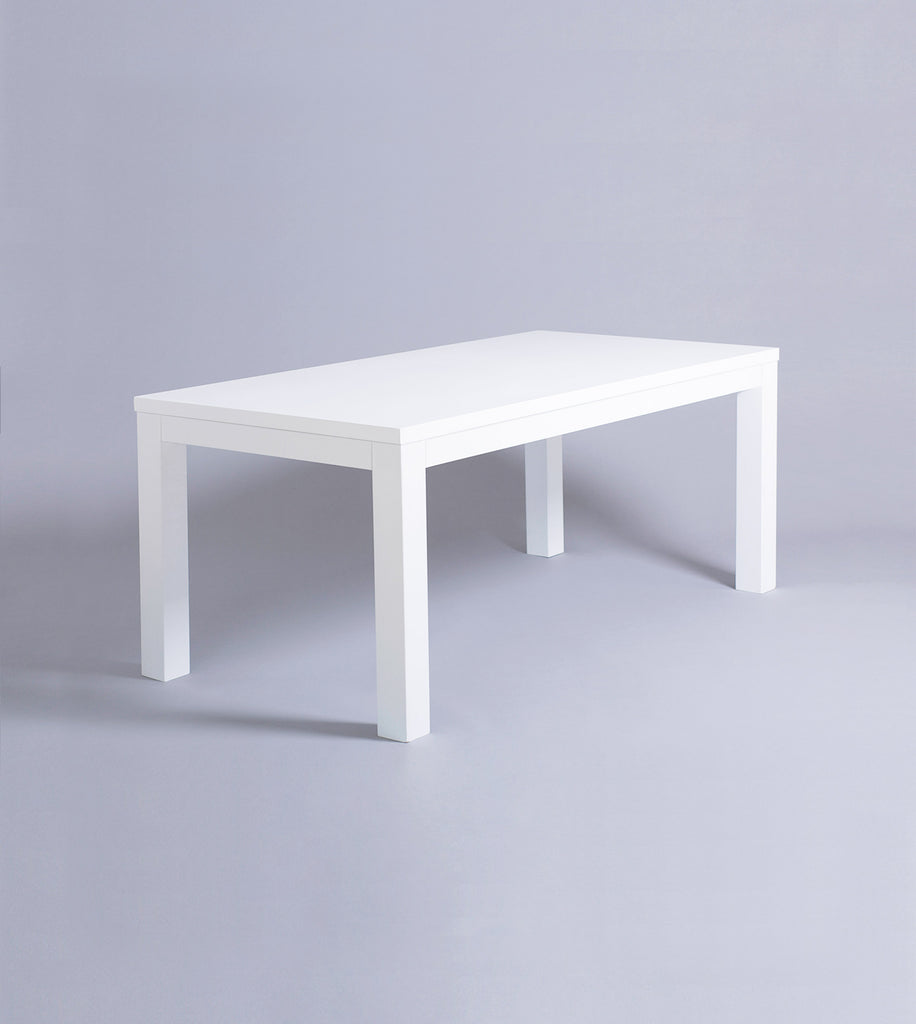 Parsons Desk, White