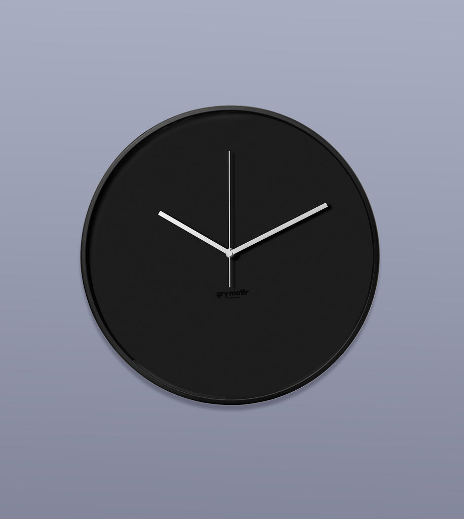 Wall Clock, Black