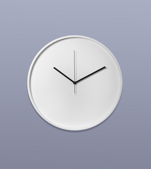 Wall Clock, White
