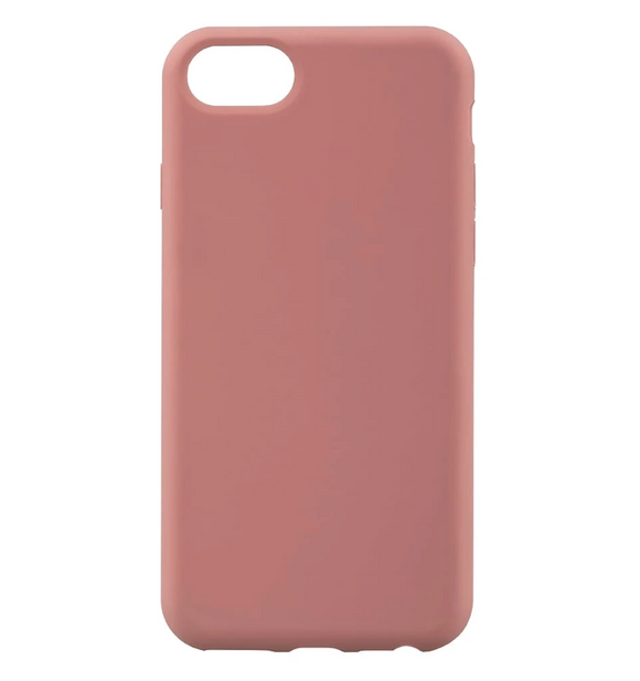 iPhone 6/7/8 Silicone Case, Pink
