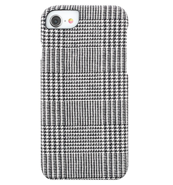 Fabric Case for iPhone 11/Xr - Houndstooth