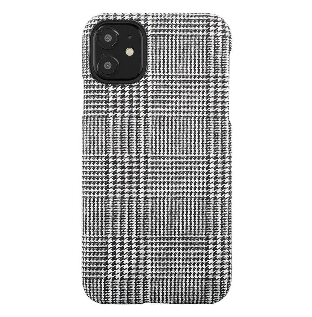 Fabric Case for iPhone 6/7/8 - Houndstooth