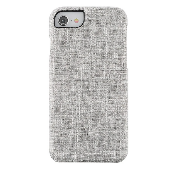 Fabric Case for iPhone 6/7/8 - Warm Grey Tweed