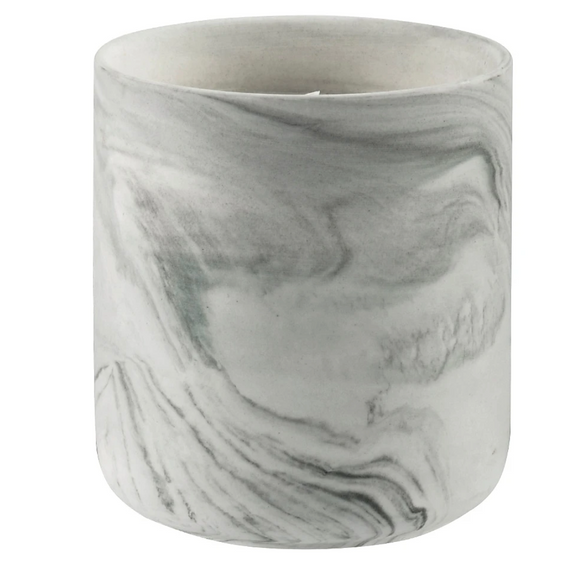Mini Ceramic Marble Candle, Baobab Tree