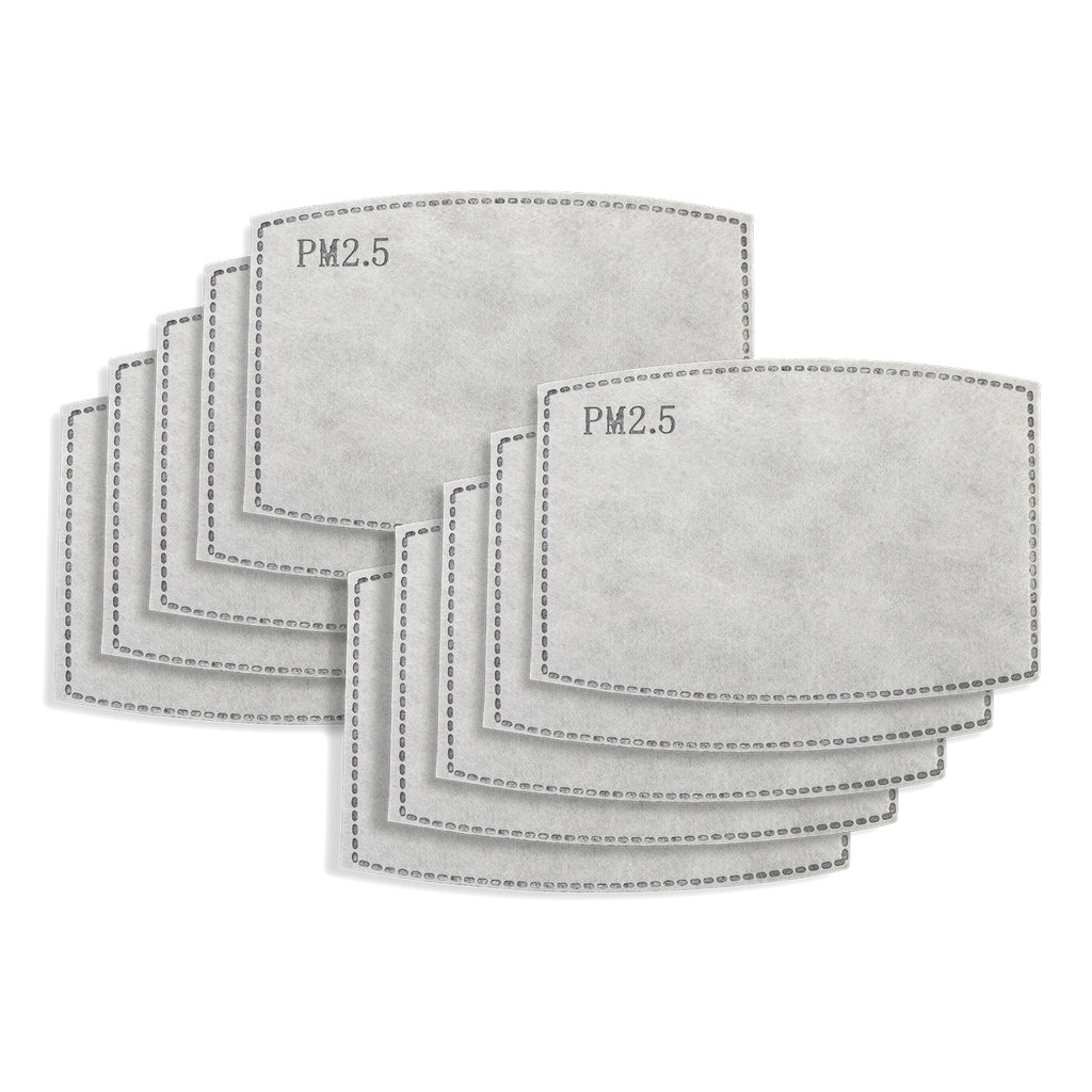 PM2.5 Filters, 10 Pack -  FITS ALL MASKS