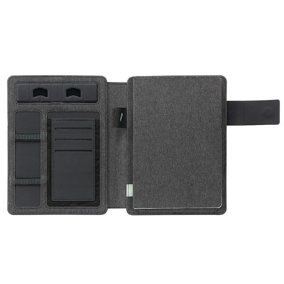 Pad Folio Notebook, Black