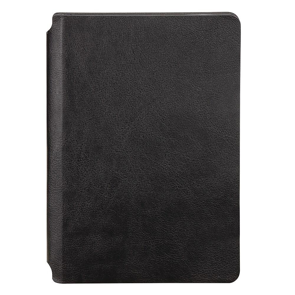 Vegan Leather Notebook, Black
