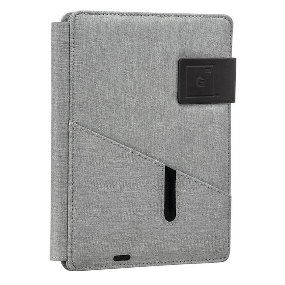 Pad Folio Notebook, Grey