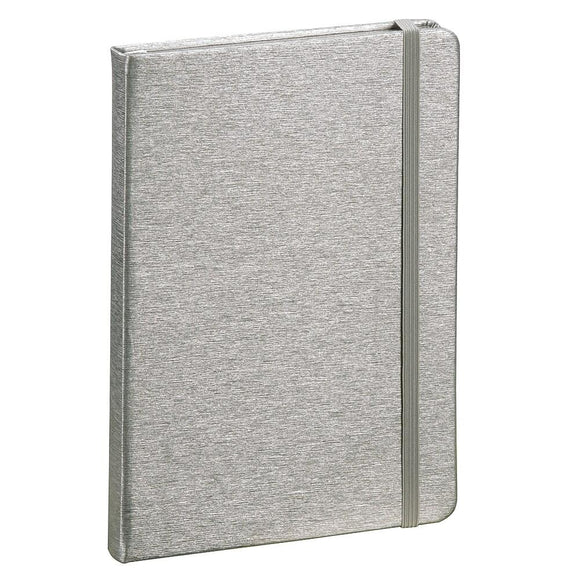 Silver Hardcover Notebook