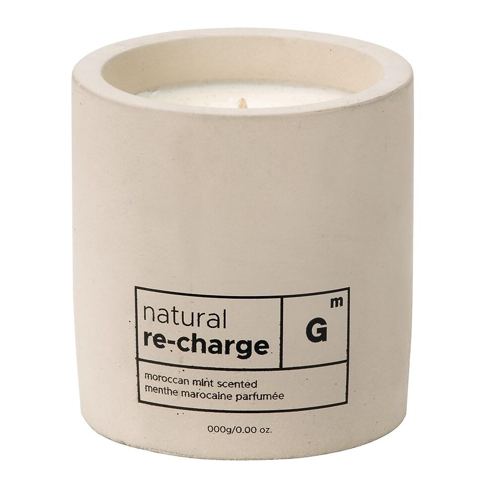 Recharge Cement Candle in Moroccan Mint