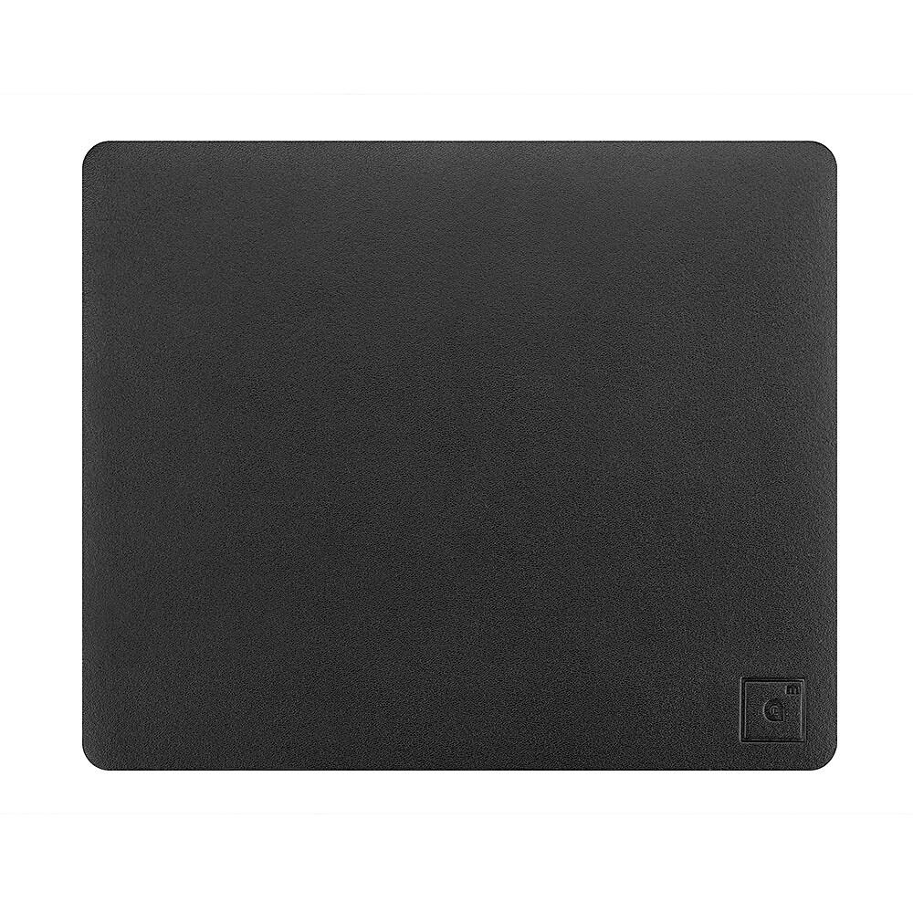 Genuine Leather Mouse Pad, Charcoal