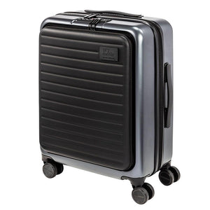 Carry-On Luggage With USB Port And TSA Approved Locks, Grey